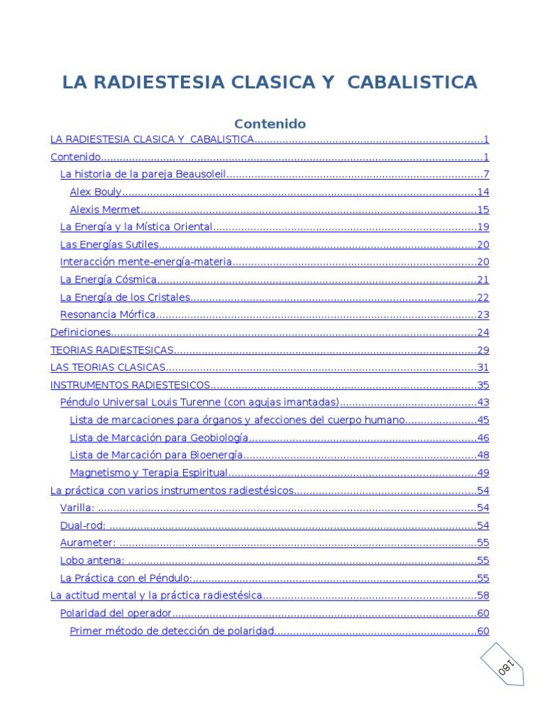 Varillas De Radiestesia Manual Pdf Download