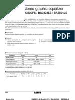 Datasheet BA3822LS