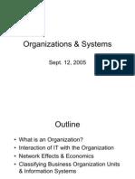 Organizations Systems