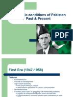 Economic Conditions of Pakistan