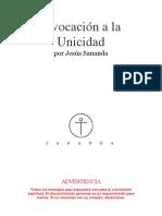 Invocación a la Unicidad de Jesús Sananda