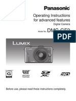 Panasonic LUMIX DMC-GF2 Advanced Manual