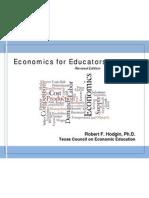 Economics for Educators Revised v 18G