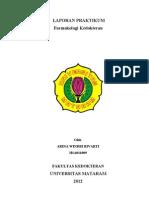 Laporan Praktikum farmakologi2011
