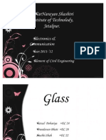 Copy of Glass Ppt
