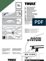 Bagaznik Thule Rapid System 750pdf