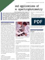 reflectance spectrophotometry