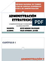 ADMINISTRACIÓN ESTRATEGICA - AVANCE