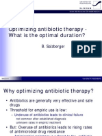 Optimal Duration Antibiotic