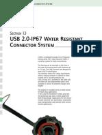 USB Liittimet IP67