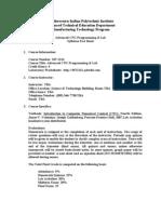 Advanced CNC Fact Sheet