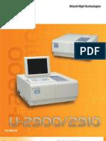 U 2900 Brochure