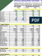BV Spring Rate Calculator V6.4