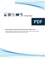 Wide Dynamic Range Cameras White Papers