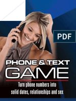 Phone and Text Game