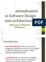 Inter Nationalization in Software Design and Architecture