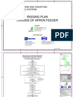 Rigging Plan Chassis of Apron Feeder