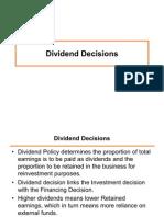 6 Dividend Decision
