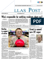 The Dallas Post 01-22-2012
