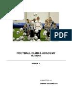 Synopsis Football Acadmey