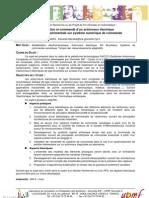 Sujet PFE-Master Commande d'Actionneur - LCIS-MACSY - 2011