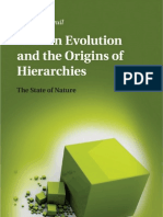 Human Evolution and the Origins of Hierarchies the State of Nature