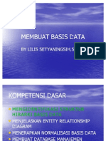Membuat Basis Data
