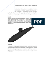 Consideraciones Contextuales de Un Reloj de Buceo y Un Submarino