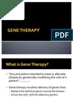 BIO03 Gene Theraphy