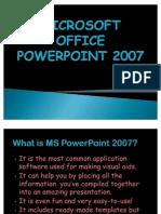 Microsoft Office Power Point 2007