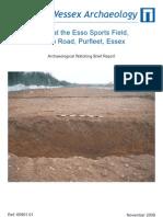 Esso Sports Field, Purfleet
