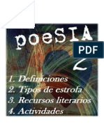 Cuadernillo la poesia 2º ESO