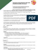 Interpretacións (2011) do Reglamento FIBA (2010)