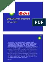 BP E.on Announcement
