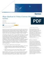 Magic Quadrant for Utilities Customer Information Systems