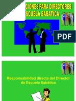 Director de Escuela Sabatica