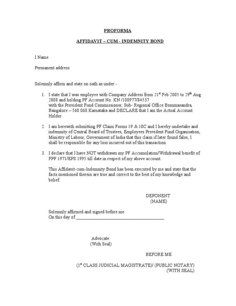 Affidavit cum indemnity bond thecheapjerseys Gallery