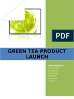 Green Tea Product Launch