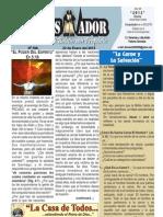 """2012-01-22 """"El Conquistador"""" un publicación semanal de LA CASA DE TODOS de Chimbote Perú"""