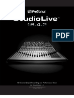 Studio Live Manual Forweb