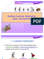 Unit 1.3 Building Customer Value, And Retention