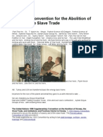 International Convention for the Abolition of Slavery and the Slave Trade