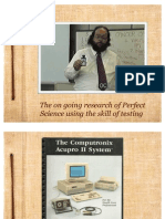 Copy of Douglas Leber , Perfect Science Research Full Circle 12 y