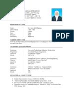 resume BI