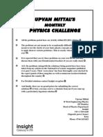 Upvan Mittal%27s Physics Challenges
