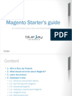 Magento Starters Guide