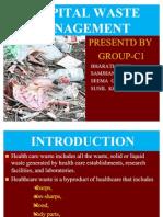 Hospital waste management in Kathmandu valley Power Point Final