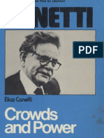 an essay on man space science canetti crowds and power