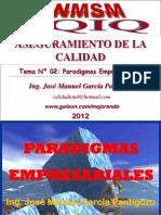 TEMA 02 - PARADIGMAS EMPRESARIALES