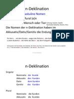 VK-n-Deklination